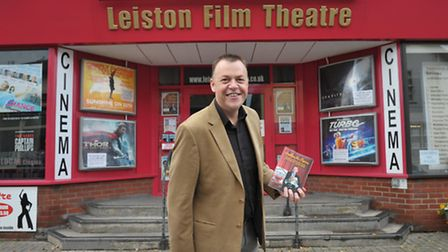 Wayne Burns, manager of Leiston Film Theatre. He knows some folk begrudge the 18p a week it costs lo