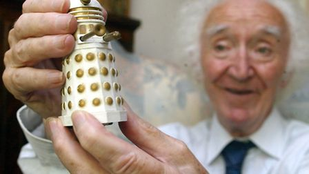 E.A.D.T. News - 6th August 2004 John Scott Martin who played a Dalek throughout the Doctor Who se