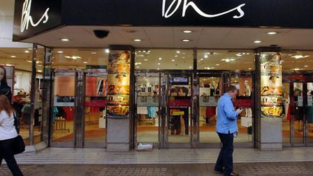 Retail group Arcadia, owner of chains including BHS, today reported a fall in sales.