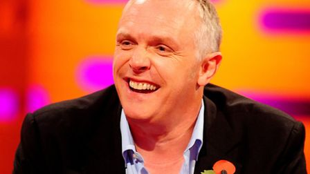 Greg Davies during recent filming for the Graham Norton Show. (Ian West/PA Wire)