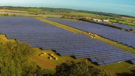 Proposals for a solar farm in Baylham have faced criticism