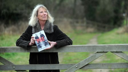 Author Lucy Hughes-Hallett is pictured in Walpole with her latest book. EADT 12.1.13