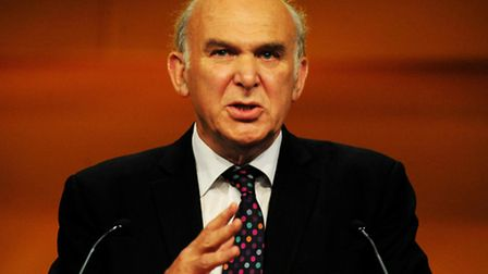 Secretary of State for Business Dr Vince Cable