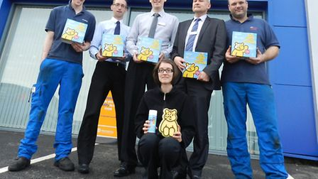 Ipswich dealership, John Grose Peugeot, is preparing to �Get Sudsy with Pudsey� and support Children