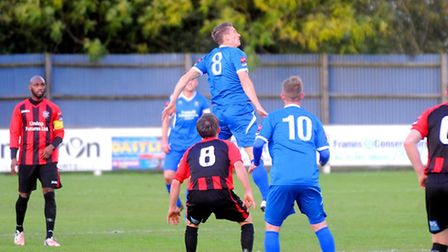 Bury Town beat Chatham Town on Saturday in the FA Trophy