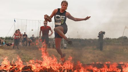 Next weekend, Katie Keeble, aged 31, from Ipswich, will join thousands of super-fit obstacle racers