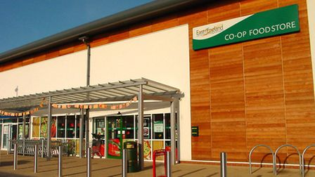 The East of England Co-op foodstore at Ravenswood, Ipswich