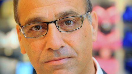 Businessman and retail tycoon Theo Paphitis.