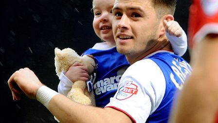 Aaron Cresswell at the end of the New Year's Day draw with Charlton