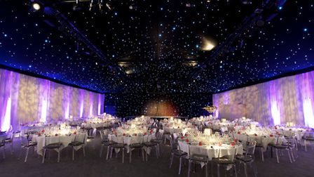 The Hangar at Kesgrave Hall has been transformed into a new event venue