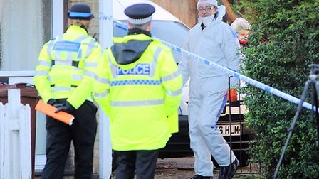 Two people have been arrested on suspicion of murder following an incident in Mildenhall this mornin