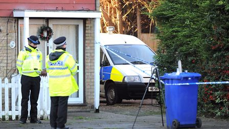Two people have been arrested on suspicion of murder following an incident in Mildenhall. Police hav