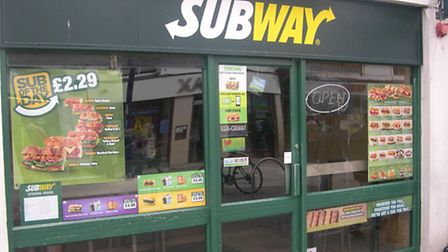 National restaurant chain Subway is due to be coming to Stowmarket
