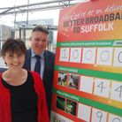 Passing the 10,000 mark in the Better Broadband for Suffolk campaign.