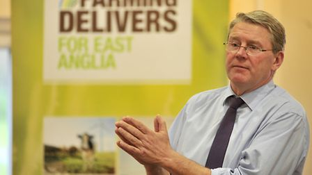 Peter Kendall, president of the National Farmers' Union.
