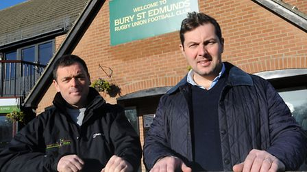 Andy Spetch (left) and Austin Cornish are organsing a memorial bike ride to mark 40 years since the