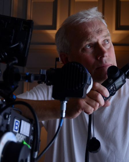 Suffolk film cameraman and director of photography Steven Hall. FILM Suffolk want to compile a direc