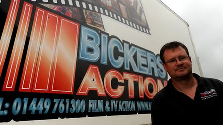 Paul Bickers, of Bickers Action, one of the key players in the UK film industry based in Suffolk