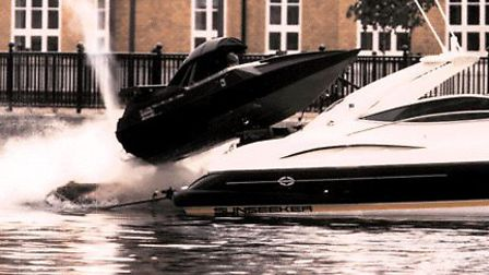 Bickers Action is key player in the world of film. They engineered the dramatic boat flip in the Jam