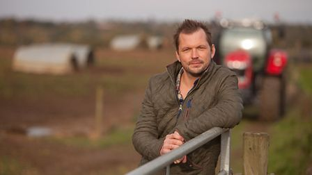 Jimmy Doherty, who is fronting a new Red Tractor pork advertising campaign on TV.
