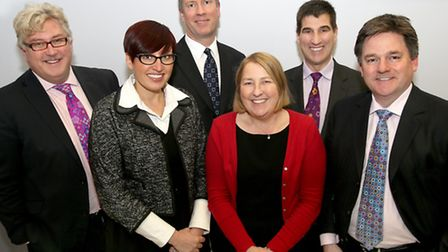 Members of the Essex Employment and Skills board, from left, Kevin Bentley (Essex County Council),