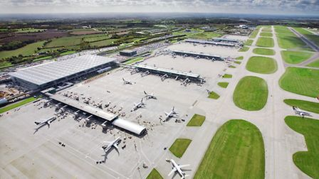 Stansted Airport.
