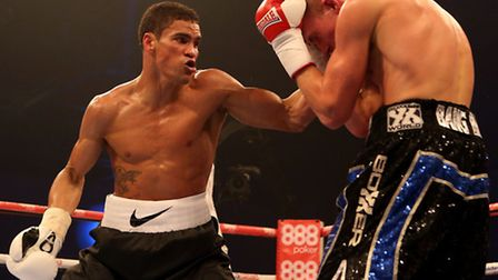 Anthony Ogogo cruised to his fourth win over Dan Blackwell at the ExCeL Arena.