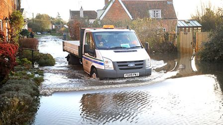 How to drive safely in flood waters