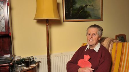 Brian Allan, 75, from Lowestoft, has received a Surviving Winter payment from Age UK.