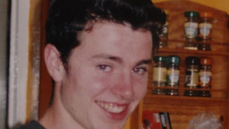 Luke Durbin, who went missing in May, 2006, after a night out in Ipswich.