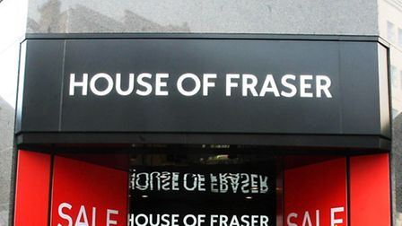 House of Fraser is in talks over a potential takeover.