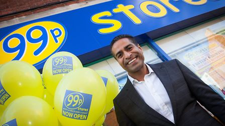 Hussein Lalani, commercial director at 99p Stores.