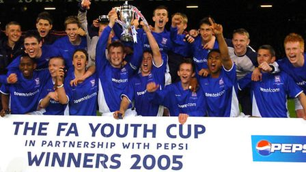 Ipswich Town Youths v Southampton Youths FA Youth Cup final Second leg Picture Clifford Hicks E