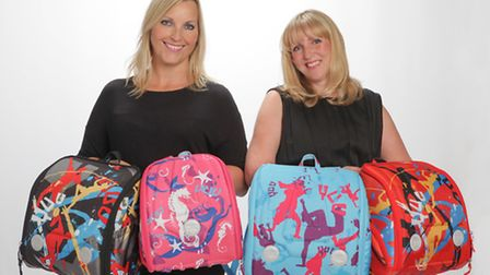 Gill Hayward and Kellie Forbes of YUUworld, based in Great Dunmow.