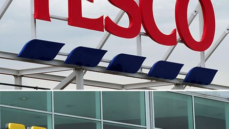 Tesco and Morrisons have each reported a sharp fall in sales over the Christmas period.