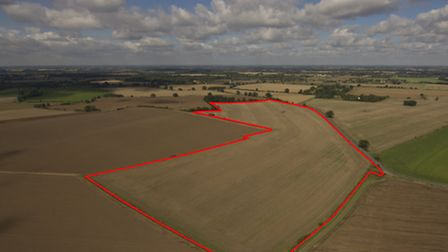 40 acres of arable land at Mellis Ash near Eye which sold through Savills Ipswich in December comfor