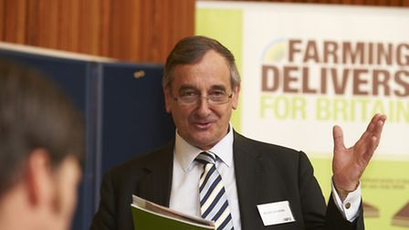 Meurig Raymond, National Farmers' Union deputy president, who will be visiting Suffolk this month to