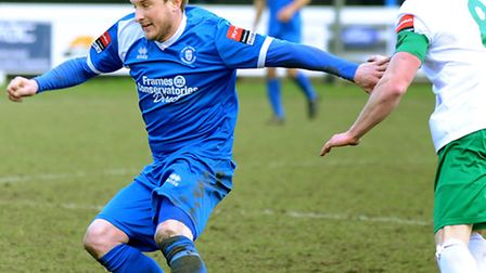 John Kennedy, left, could be back in action against Thamesmead