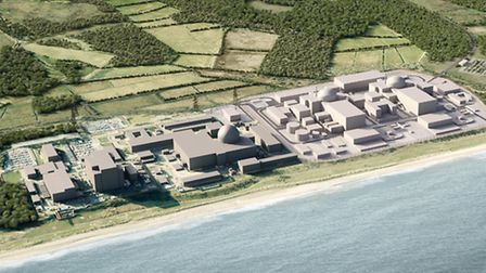 What Sizewell B and C will look like.