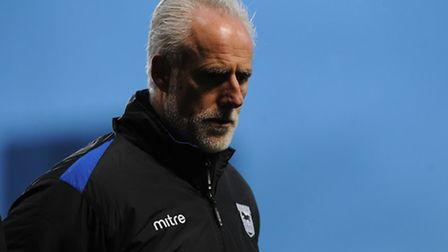 Ipswich Town v Preston North End. FA Cup Third Round. Ipswich Town manager Mick McCarthy.