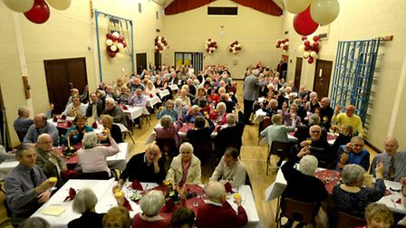 Diamond day: The annual Mendlesham Parish Party for over 65's, disabled and their partners celebrat