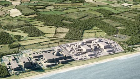 The proposed project to build Sizewell C