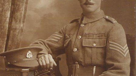 He never spoke about his experiences... First World War soldier Sydney Green.