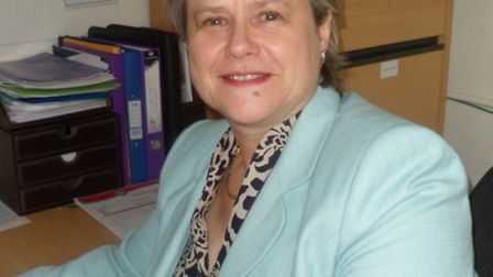 Alison Tilbrook, the new headteacher at IES Breckland