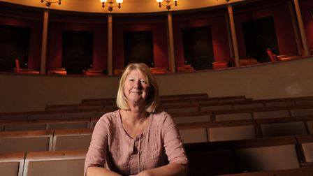 Karen Simpson, the new artistic director of the Theatre Royal in Bury St Edmunds.