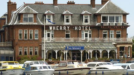 The Wherry Hotel at Oulton Broad, venue for the Anglia Afloat Boat Show on Saturday.