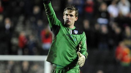 Sam Walker, after his recent man-of-the-match performance at MK Dons