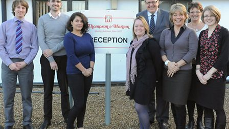 Some of the staff at Thompson & Morgan, seed and plants firm, of Ipswich. Sarah King, Julie Rush,