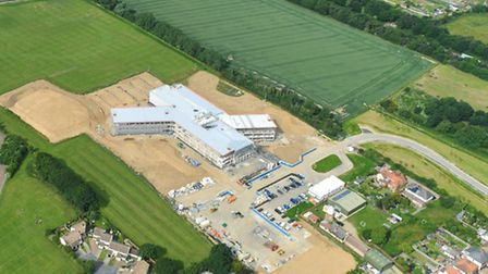 Developers want to build 190 homes on the field next to the site of the new Felixstowe Academy build