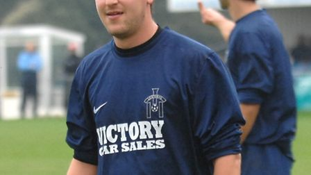 Leiston's Stuart Boardley, who scored in the midweek win against Canvey Island